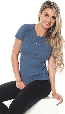 Alto Giro Camiseta Alto Giro Recortes Azul