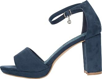 XTI Tenations 35047 Sandals with Heel Woman Petroleum Blue 37