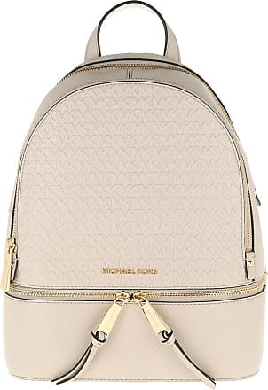 Michael Kors Rhea Zip MD Backpack Light Sand