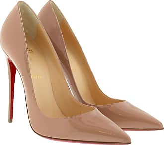 011bcded6fe80e Christian Louboutin So Kate 120 Patent Leather Pumps Nude Pumps beige