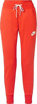 Nike Pantalon De Survêtement En Jersey Stretch À Rayures - Rouge tomate 59c1f7fee03