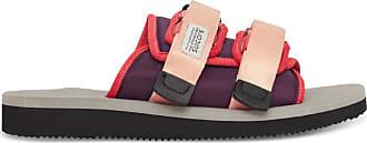 Suicoke Moto-cab slippers PINK / GRAY 39,5