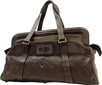 dd6ff0ceb152 Chanel 2.55 Reissue Caviar Duffle 225064 Brown Leather Weekend travel Bag