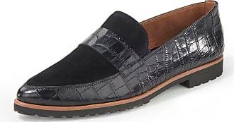 Paul Green Loafers embossed crocodile motif Paul Green black