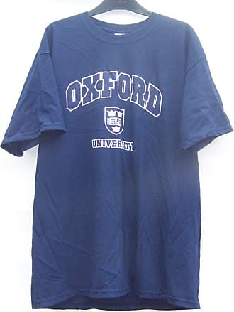 Oxford University Crested T Shirt (XXL, Navy)