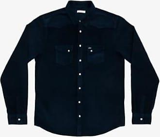 Sun 68 Dunkelblaues Texana-Hemd aus Cord - cotton | navy blue | xxl - Navy blue