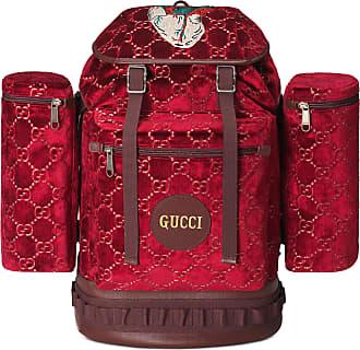 a1affde4052a2 Gucci Mochila Grande de Terciopelo con GG
