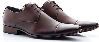 Di Lopes Shoes Sapato Social Masculino 100% em Couro (38, Marrom)