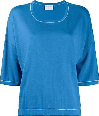 Snobby Sheep Blusa mangas longas de tricô e cashmere - Azul