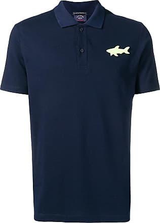 Paul & Shark Camisa polo com logo - Azul