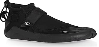 Rip Curl 1.5MM Dawn Patrol Reefer Low Split Toe Shoes - Unisex - Comfortable and Durable Watersports Black 10 UK