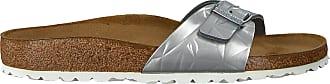 Birkenstock Zilveren Birkenstock Papillio Slippers Madrid Spectral