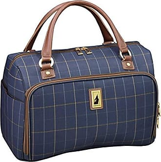 7d5fdea04 Knightsbridge Hl 15 Under The Seeat Bag, Brown Glen Plaid. Delivery: free. London  Fog Kensington II 17 Cabin Bag, Navy Window Pane