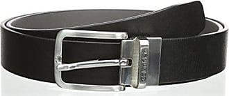 b5035287c40f Calvin Klein Jeans MINO REV. Belt, Ceinture Homme, Multicolore (Black Grey