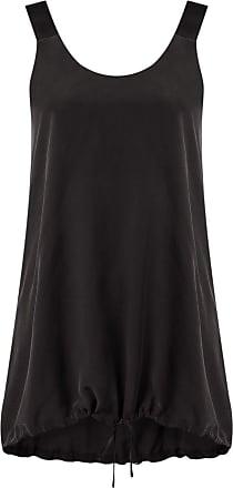 Uma Blusa de seda - Preto