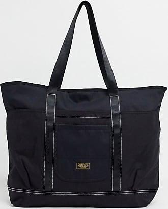 Topman tote bag in black