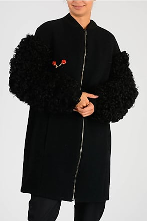 Drome Coat with Real Fur Sleeves size M