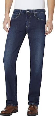Pepe Jeans London Mens Colton Straight Jeans, (Denim Fo9), W33/L32 (Size: Taille Fabricant 33/32)