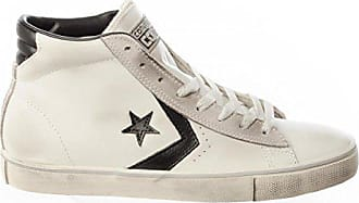 8bfcd9de2f5f28 Converse Unisex-Kinder Lifestyle Pro Leather Mid Sneakers Mehrfarbig (Star  White Black