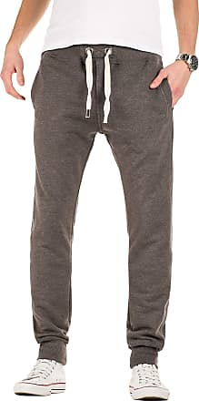 Yazubi Mens Trousers Bottoms Gym Tracksuit Running Edward Sweatpants Sports Pockets Smokey Cloud, Dark Gull Gray (180403), S