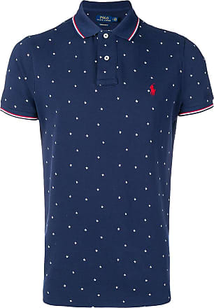 Polo Ralph Lauren star pattern polo shirt - Blue