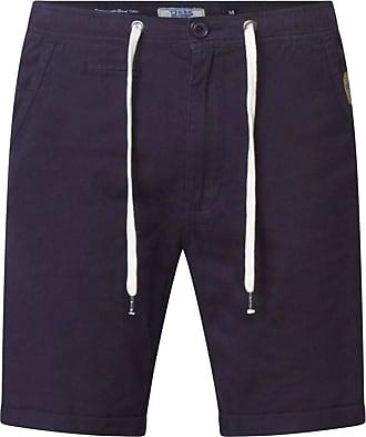 Duke London Duke Mens Gareth Shorts with Five Pockets and Elasticated Waistband - Blue - 5XL