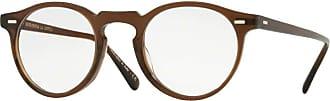 Oliver Peoples GREGORY PECK OV 5186 WASHED DARK BROWN 47/23/150 men Eyewear Frame