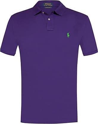 cba47449f7c259 ... bordeaux 98ef9 09de0 best price polo ralph lauren polo shirt custom  slim fit violett herren a5f19 4a1a0 ...