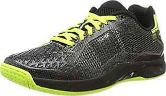 new style 3e78a 5fd32 Kempa Attack Pro Contender Caution, Chaussures de Handball Homme, Noir  (Negro Amarillo