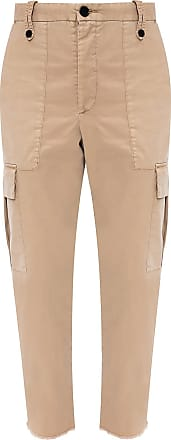 Zadig & Voltaire Trousers With Several Pockets Womens Beige
