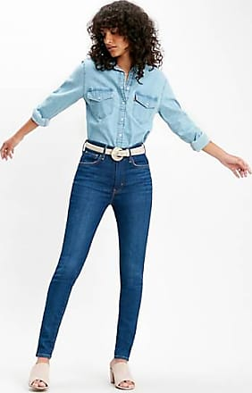 Levi's Mile High Super Skinny Jeans - Blue