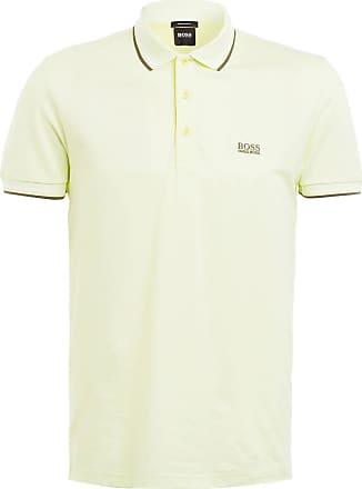 BOSS Piqué-Poloshirt PADDY Regular Fit - HELLGELB