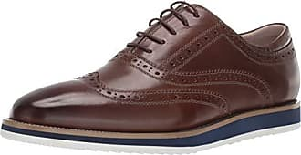English Laundry Mens Rory Oxford, Taupe, 10.5 M US