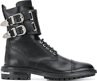 Toga Archives Ankle boot com fivela dupla - Preto