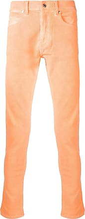 Paura Calça jeans slim - Amarelo