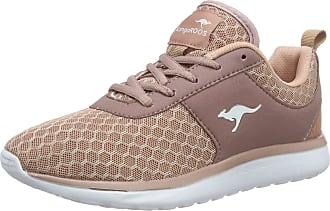 Kangaroos Womens Bumpy Low-Top Sneakers, Red (Rose 640), 5 UK
