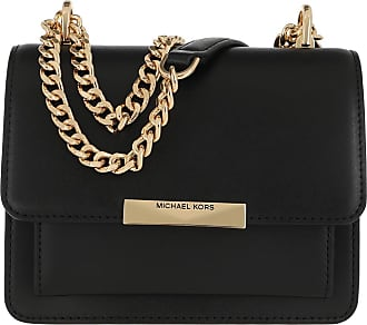 Michael Kors Cross Body Bags - Jade XS Gusset Crossbody Bag Black - black - Cross Body Bags for ladies