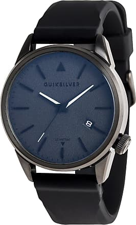 Quiksilver The Timebox 42 Silicone - Analogue Watch - Men - ONE SIZE - Black