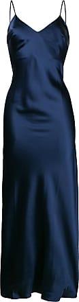 Gilda & Pearl Slip dress Sophia longo - Azul