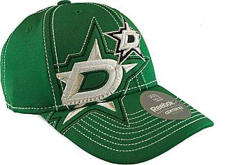 Reebok Dallas Stars Green Draft Cap Fitted Hat (Adult S/M) - M250Z