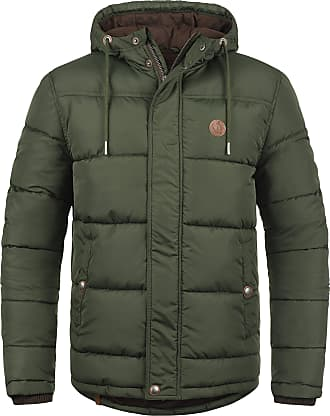 Solid Denilson Mens Winter Jacket Outdoor Jacket with Hood, Size:L, Colour:Rosin (3400)