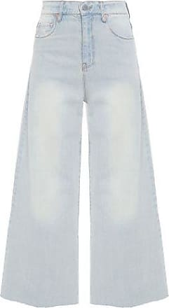 N.Y.B.D. Calça Pantacourt Jeans N.Y.B.D. - Azul