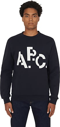 A.P.C. A.p.c. Decal crewneck sweashirt DARK NAVY M