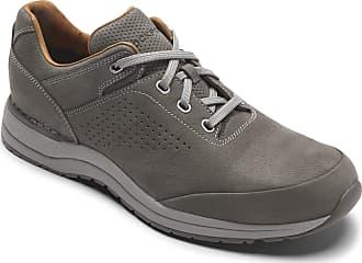 Rockport Mens Edge Hill Ii Pt Ubal Shoes, 11.5 UK X-Wide, Breen Nubuck