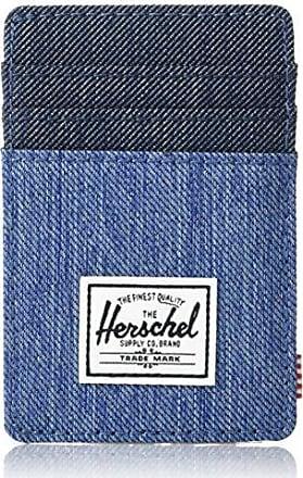 Herschel Supply Co. Mens Raven RFID, Faded Indigo Denim, One Size