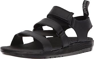 Dr. Martens Womens Redfin Open Toe Sandals, Black (Black Hydro Leather 001), 8 UK (42 EU)