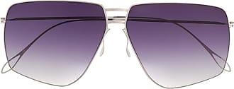 Haffmans & Neumeister Óculos de sol aviador - Prateado