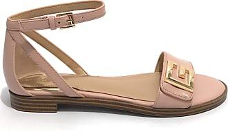 Guess Donna DS20GU41 Scarpe Sandalo Basso Modello Rashida Pelle Colore Pink Pink Size: 7 UK
