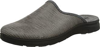 Rohde Mens 4620 Open Back Slippers, Beige (Leinen 17), 7.5 UK