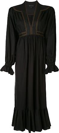 Karen Walker Mafic midi dress - Black